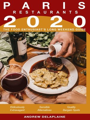 cover image of 2020 Paris Restaurants