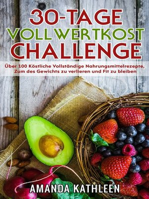 cover image of 30-Tage-Vollwertkost-Challenge