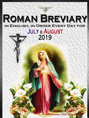 cover image of The Roman Breviary: in English, in Order, Every Day for July & August 2019