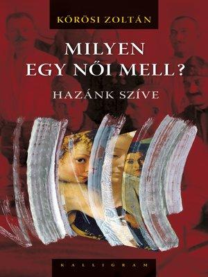 cover image of Milyen egy női mell?