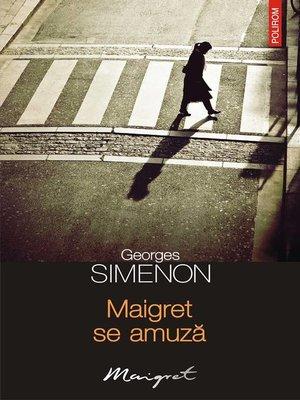 cover image of Maigret se amuză
