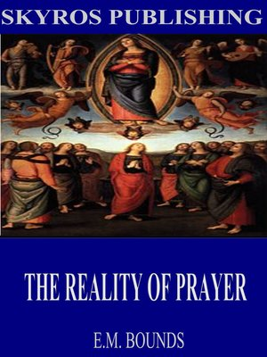 cover image of The Reality of Prayer