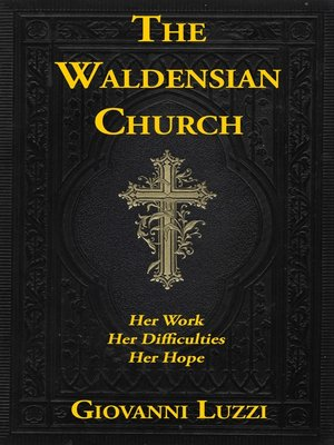 cover image of The Waldensian Church