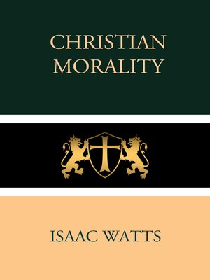 cover image of Christian Morality