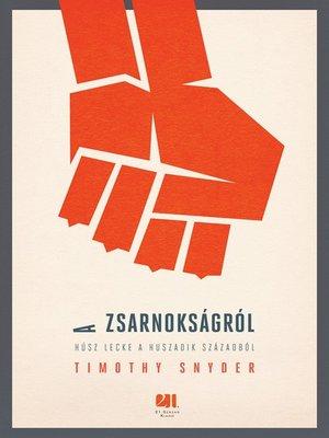cover image of A zsarnokságról