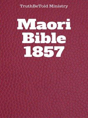 cover image of Maori Bible 1857