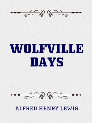 cover image of Wolfville Days