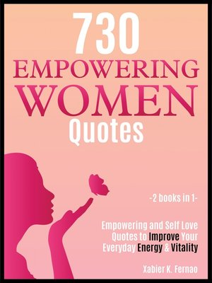 cover image of 730 Empowering Women Quotes