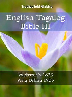 cover image of English Tagalog Bible III