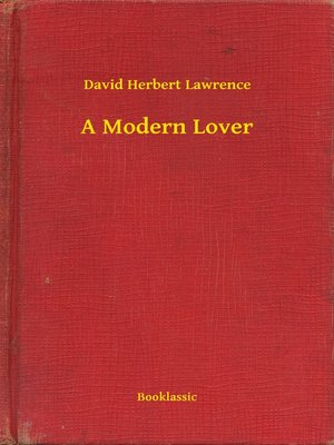cover image of A Modern Lover
