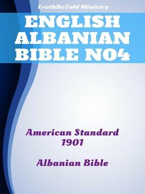 cover image of English Albanian Bible No4