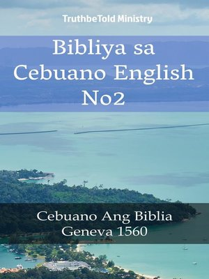 cover image of Bibliya sa Cebuano English No2