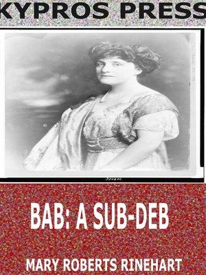 cover image of Bab: A Sub-Deb