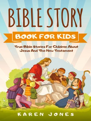cover image of Bible Story Book For Kids