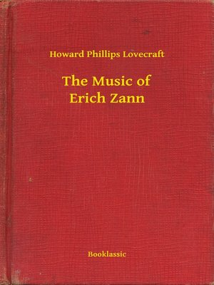 cover image of The Music of Erich Zann