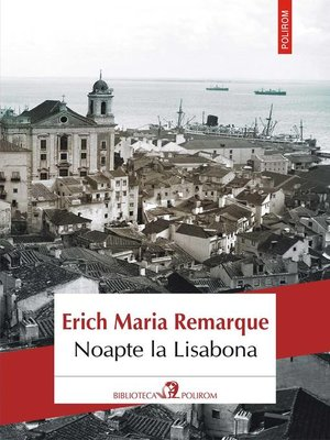 cover image of Noapte la Lisabona