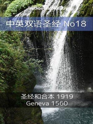 cover image of 中英双语圣经 No18