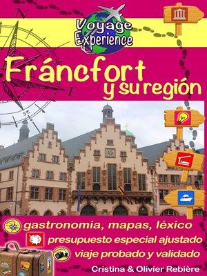 cover image of Fráncfort y su región