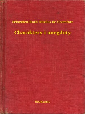 cover image of Charaktery i anegdoty