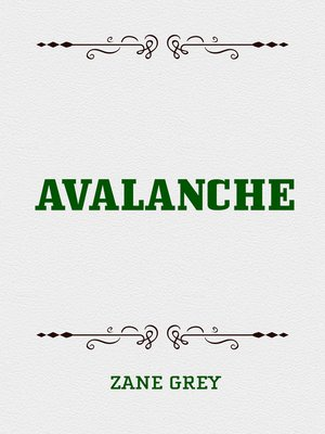 cover image of Avalanche