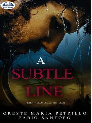 cover image of A Subtle Line
