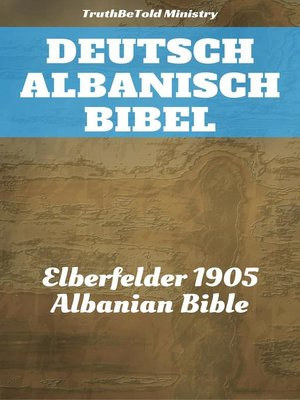 cover image of Deutsch Albanisch Bibel