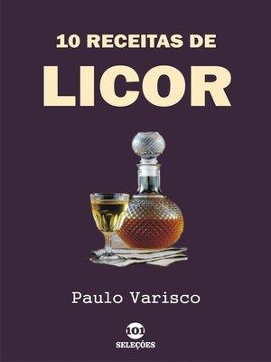 cover image of 10 Receitas de licor