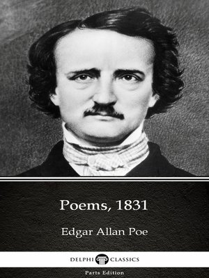 cover image of Poems, 1831 by Edgar Allan Poe