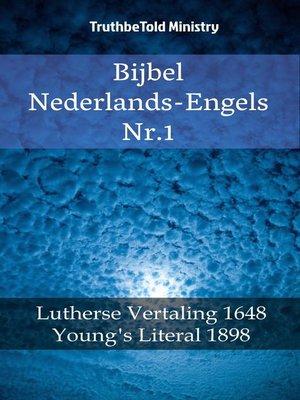cover image of Bijbel Nederlands-Engels Nr. 1