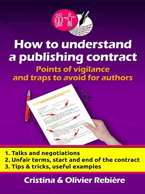 cover image of How to understand a publishing contract