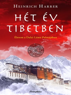 cover image of Hét év Tibetben