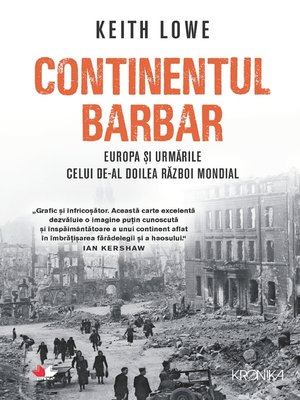 cover image of Continentul Barbar