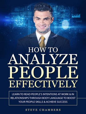 cover image of How to Analyze People Effectively