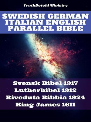 cover image of Swedish German Italian English Parallel Bible