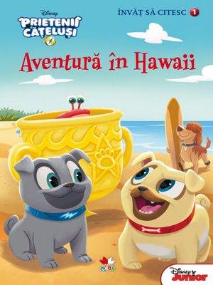 cover image of Învăț să citesc. Nivelul 1. PRIETENII CĂȚELUȘI. Aventură în Hawaii