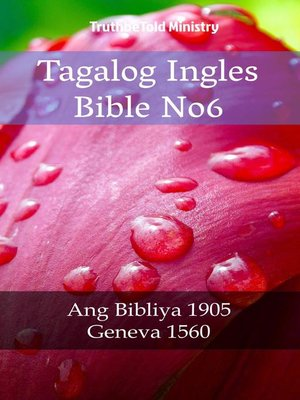 cover image of Tagalog Ingles Bible No6