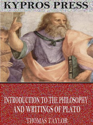 cover image of Introduction to the Philosophy and Writings of Plato