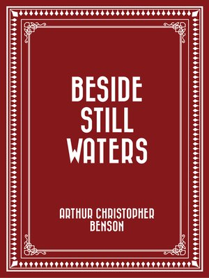 cover image of Beside Still Waters