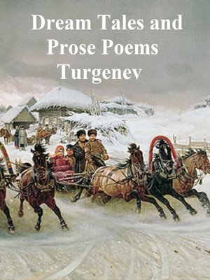 cover image of Dream Tales and Prose Poems