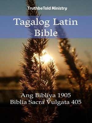 cover image of Tagalog Latin Bible