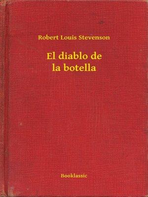 cover image of El diablo de la botella