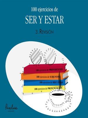 cover image of 100 ejercicios de ser y estar