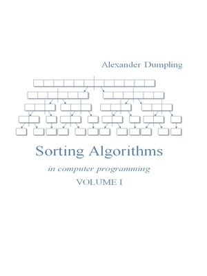 cover image of Sorting Algorithms In Computer Programming