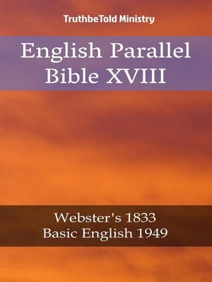 cover image of English Parallel Bible XVIII