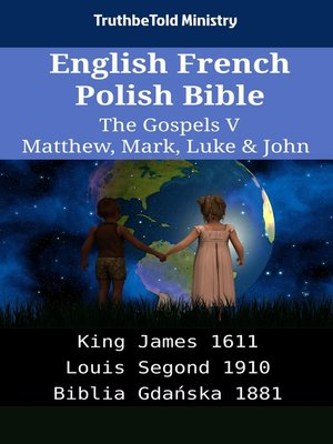 cover image of English French Polish Bible - The Gospels V - Matthew, Mark, Luke & John