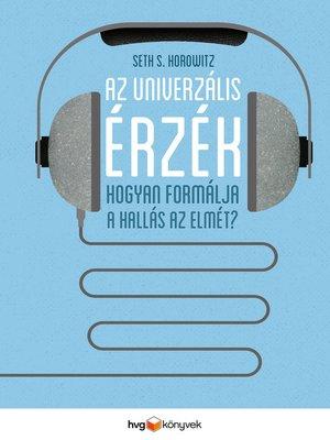 cover image of Az univerzális érzék