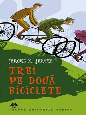 cover image of Trei pe două biciclete