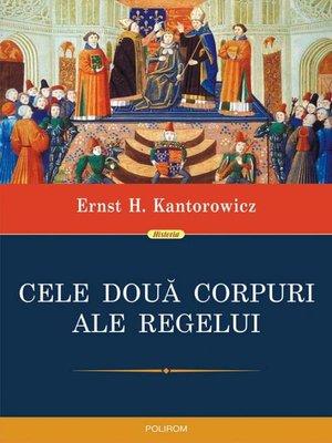 cover image of Cele două corpuri ale regelui