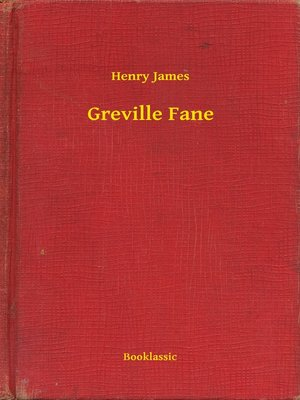 cover image of Greville Fane