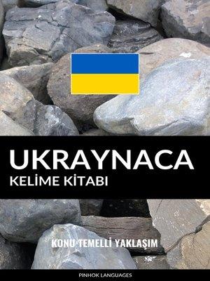 cover image of Ukraynaca Kelime Kitabı